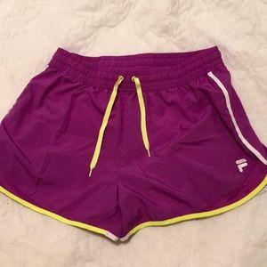 FILA nylon running shorts